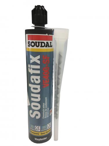 Soudafix VE400-SF280ml - Vegyidűbel - Soudal